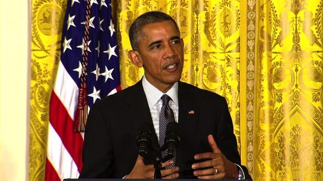 "Obama hails the ""promise of precision medicine"""