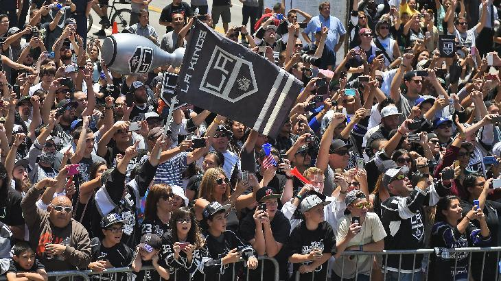 LA Mayor Eric Garcetti drops F-bomb at Kings Stanley Cup rally …