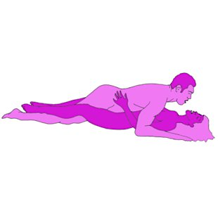 Sex position of the day: The clasping