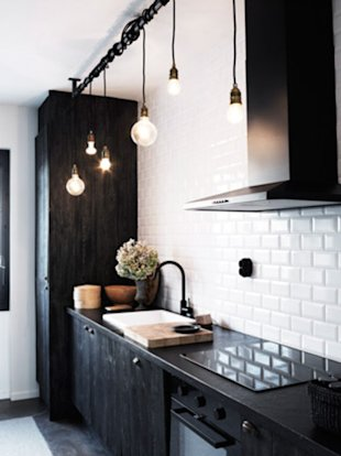 7 Black and White Decorating Ideas