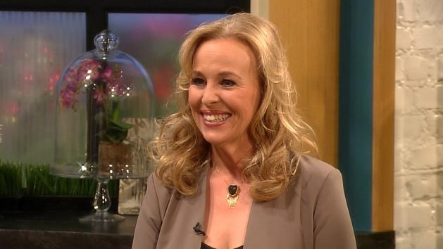 Genie Francis on Access Hollywood Live -- Access Hollywood