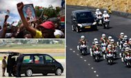 Mandela Funeral: Mourners Angry At Procession