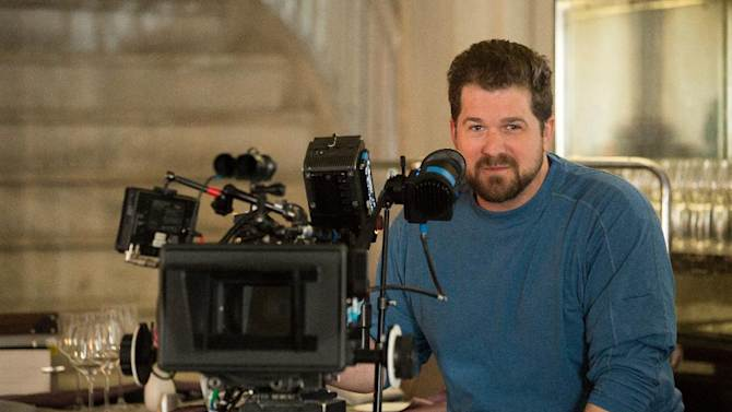 """This undated publicity image released by Universal Pictures shows director Seth Gordon on the set of """"Identity Thief."""" (AP Photo/Universal Pictures)"""
