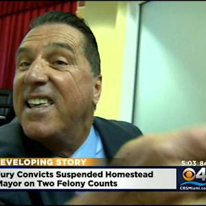 Former Homestead Mayor Bateman Found Guilty In Corruption Trial