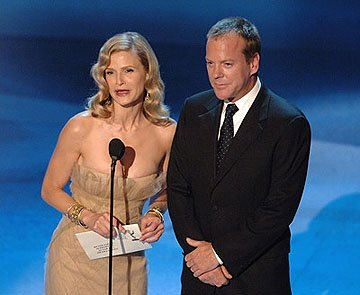 Kyra Sedgwick, Kiefer Sutherland