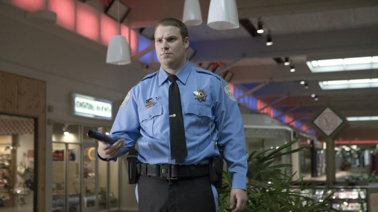 Seth Rogen Observe and Report Production Stills Warner Bros