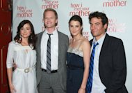 Alyson Hannigan, Neil Patrick Harris, Cobie Smulders, Josh Radnor of CBS&#39;s &#39;How I Met Your Mother&#39;