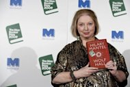 "Former winner Hilary Mantel, pictured in 2009 with her winning novel ""Wolf Hall"" made the longlist for Britain's prestigious Man Booker Prize for Fiction announced on Wednesday, while authors from India, Malaysia and South Africa were also nominated"