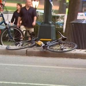 Bike accident puts woman in critical condition