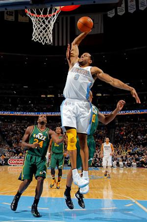 Nuggets get 26 points from Gallinari in win