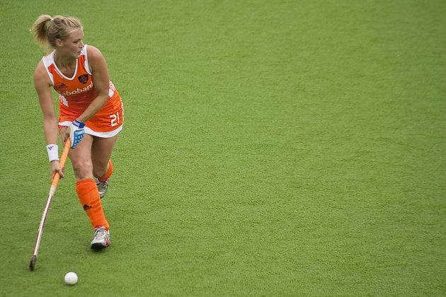 Netherlands v New Zealand - BDO FIH World Cup Women 2010