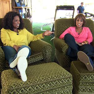 Oprah: I caught Quincy Jones snoring in my chair