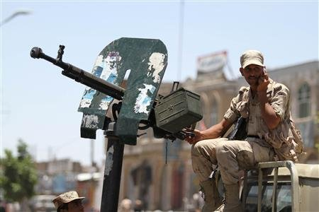 Yemen Clashes Kill 34 Militants, Soldiers: Officials