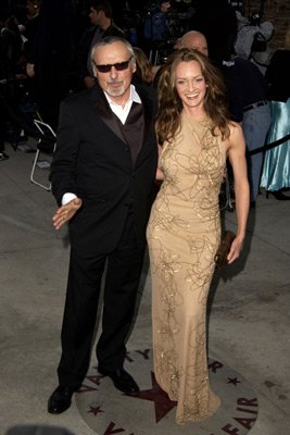 Dennis Hopper and wife