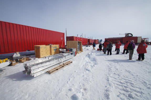 Pay Dirt! Antarctic Drilling Reaches Lake Surface