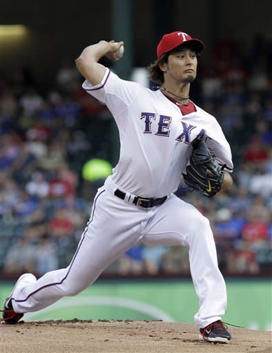 Darvish 11 Ks for Rangers in 6-2 win over Astros