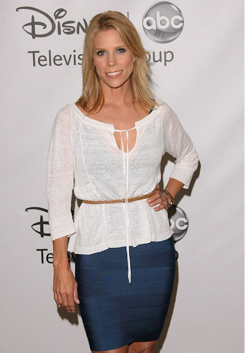 "Cheryl Hines of ""Suburgatory"" attends the Disney ABC Televison Group's 'TCA 2001 Summer Press Tour' at the Beverly Hilton Hotel on August 7, 2011 in Beverly Hills, California."