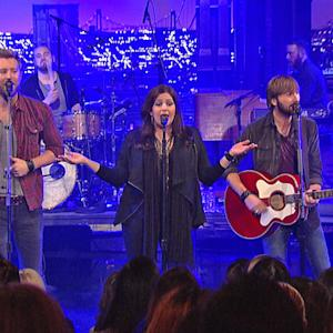 Live On Letterman - Lady Antebellum: Downtown
