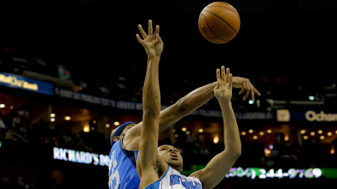NBA: Dallas Mavericks at New Orleans Hornets