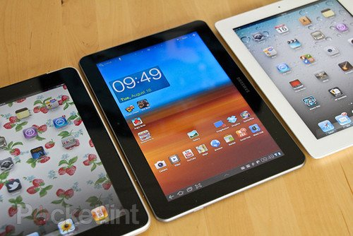 Apple must now run ads saying Samsung did not infringe iPad rights, after losing appeal. Apple, Samsung, Tablets, iPad, Samsung Galaxy Tab 0