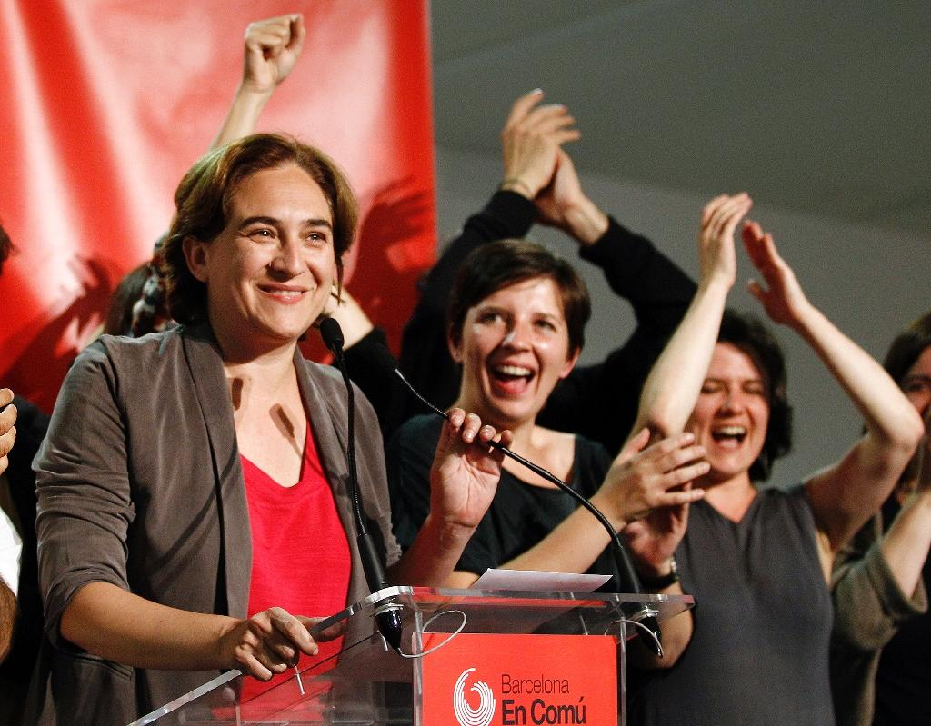 'Outraged' voters shake up political landscape in Spain local polls