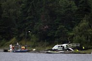 Police and emergency services search the waters around Utoeya island on July 23, 2011. Young Norwegians wounded in Anders Behring Breivik's shooting rampage have testified for the first time about how he coldly hunted them down, and used the trial to taunt the self-confessed killer