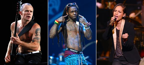 Chili Peppers, Lil Wayne, Alicia Keys Mourn Newtown School Shooting Victims