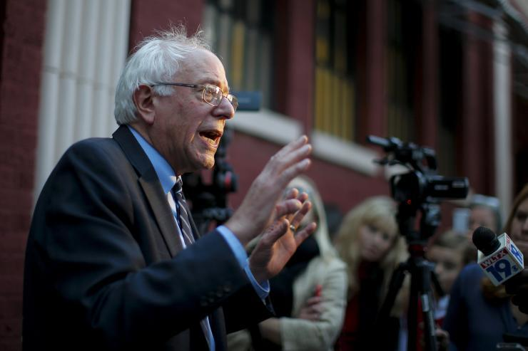 Sanders Unveils 'Humane And Secure' Immigration Plan