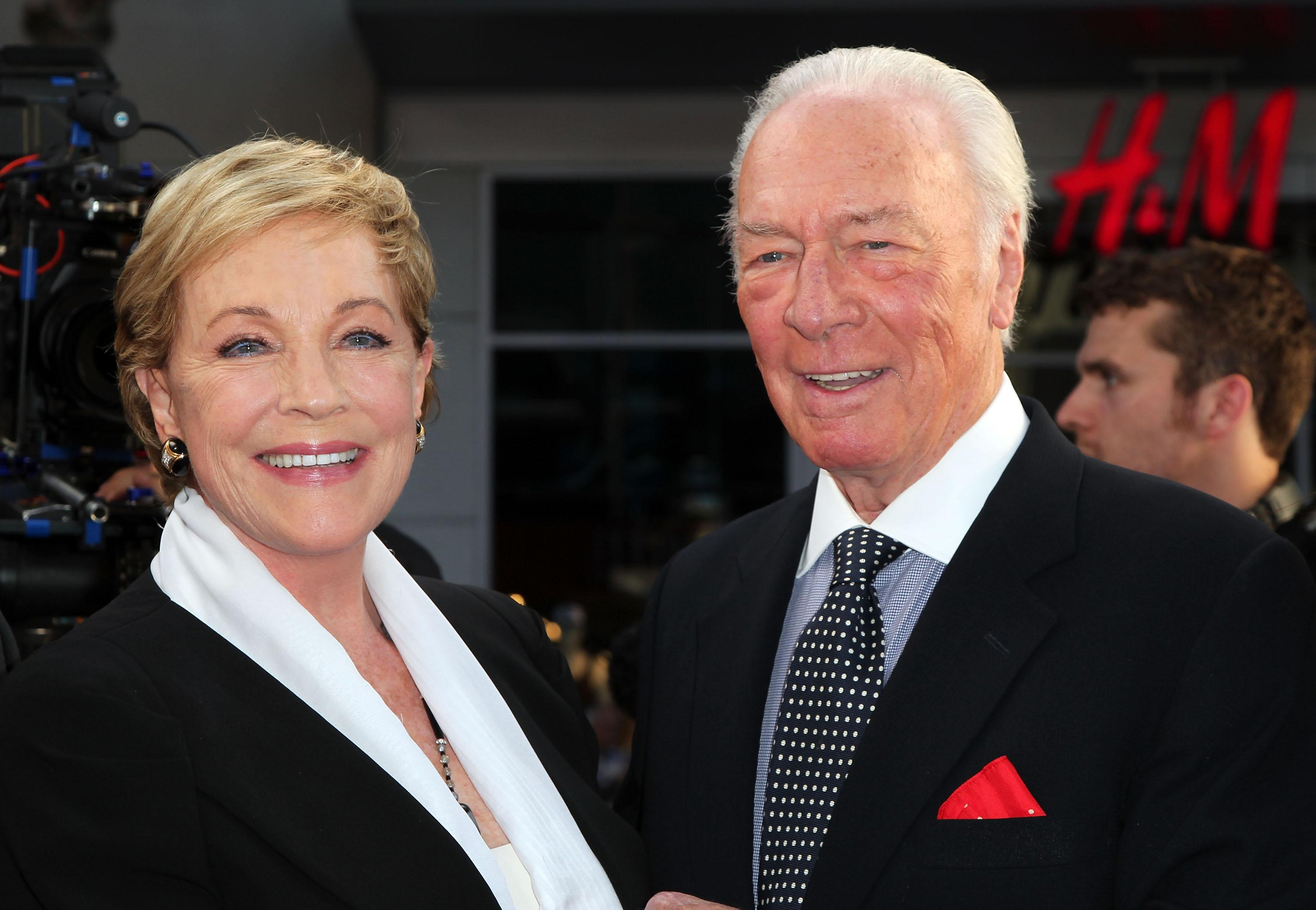 Julie Andrews and Christopher Plummer Reflect at 'The Sound of Music's' 50th Anniversary