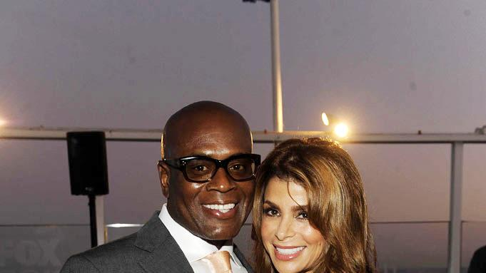 "L.A. Reid and Paula Abdul of ""The X Factor"" attends the 2011 FOX Summer TCA Party at Gladstone's in Malibu, CA on August 5, 2011."