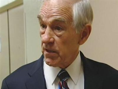 Republican Ron Paul Visits UC Davis