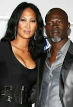 Kimora Lee Simmons and Djimon Hounsou | Photo Credits: Jonathan Leibson/FilmMagic
