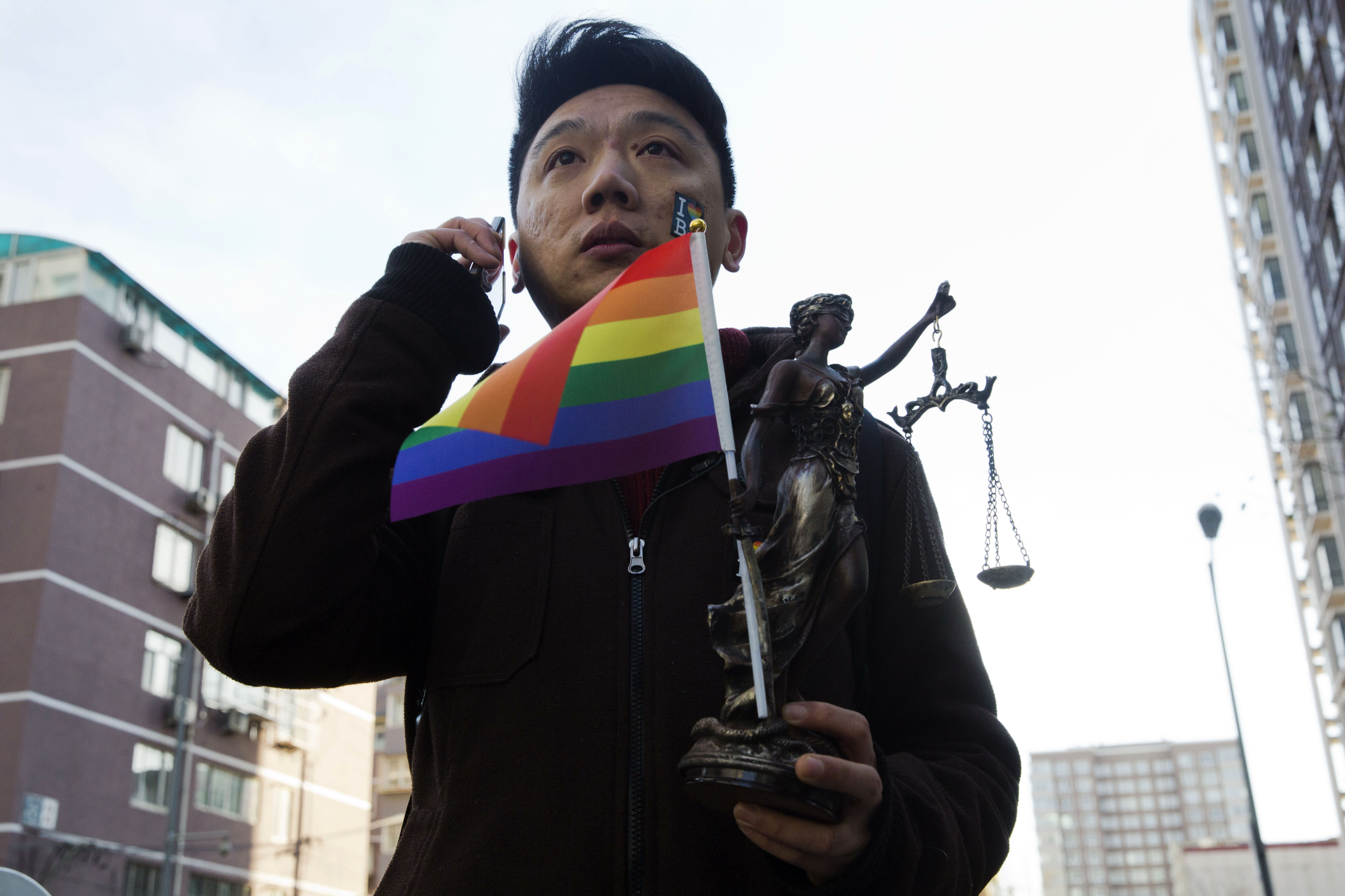 Victory for plaintiff in China gay conversion case