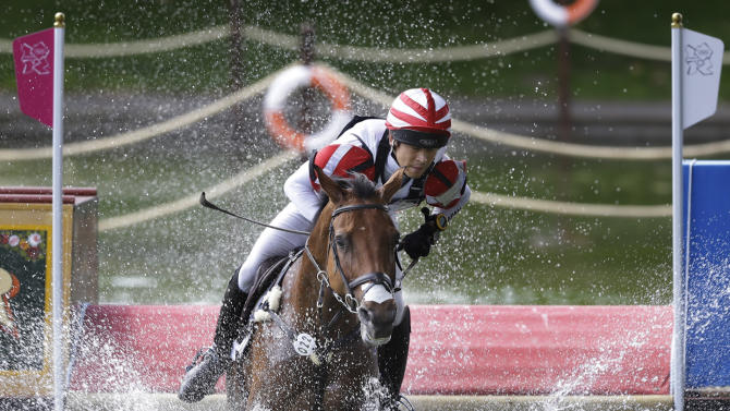 Equestrian Cross-Country