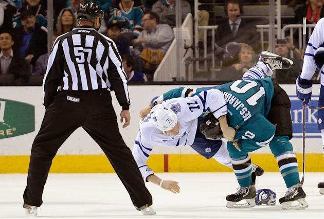 Toronto Maple Leafs v San Jose Sharks