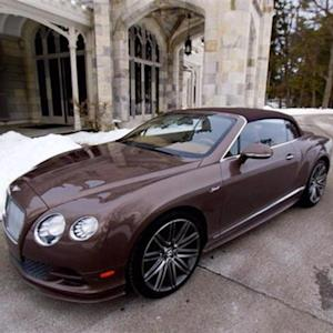 Test Driving Bentley's Continental GT Speed Convertible