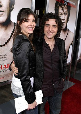 David Krumholtz and guest at the Los Angeles premiere of Columbia Pictures' Walk Hard: The Dewey Cox Story