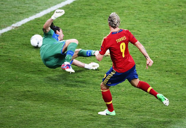 Spain v Italy - UEFA EURO 2012 Final