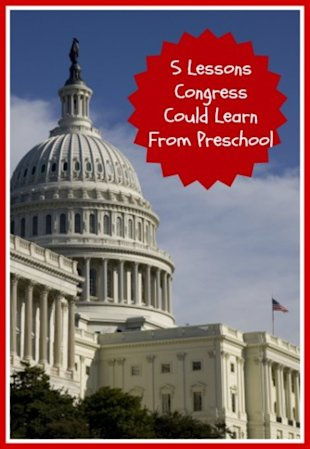 5 Lessons Congress Could Learn from Preschool