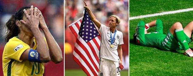 Winners, losers at the 2015 Women's World Cup
