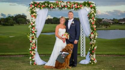 Therapy Dog Serves as Wounded Army Vet's Best Man