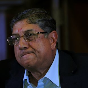 Adamant Srini wants to attend ICC meeting