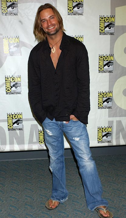 Josh Holloway at the 36th Annual Comic Con International.