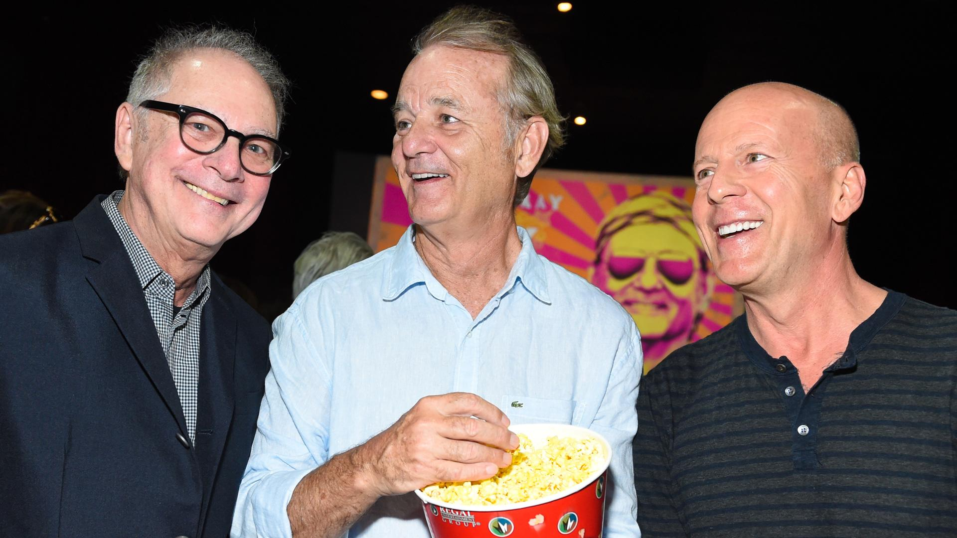 Bill Clinton, McCartney and Springsteen Attend Bill Murray's 'Rock the Kasbah' Screening