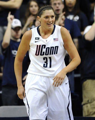 Dolson leads No. 3 UConn women over DePaul 91-44