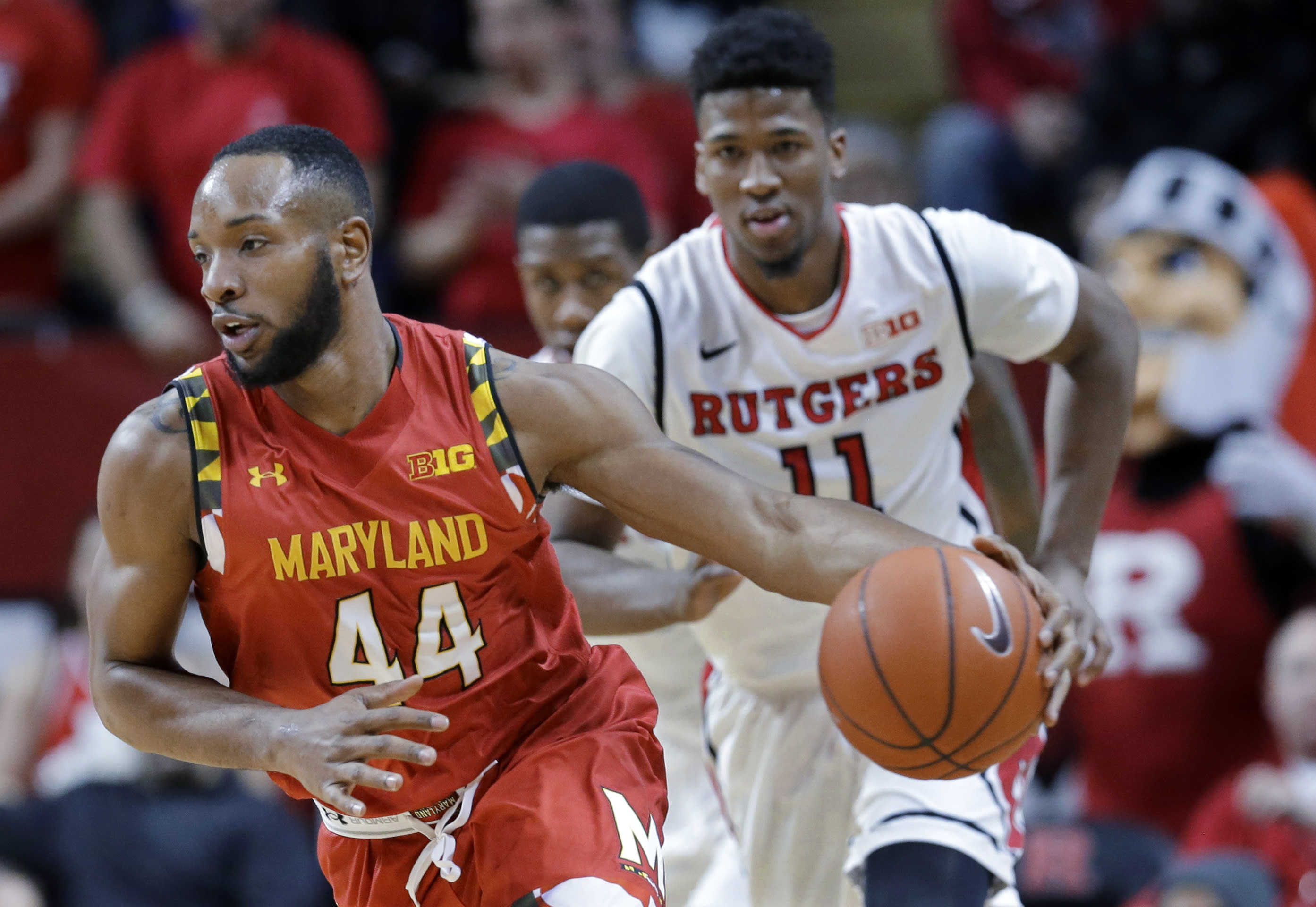 Wells' double-double carries No. 10 Maryland past Rutgers