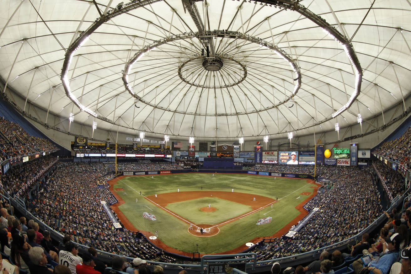 The Rays are very excited about their new stadium