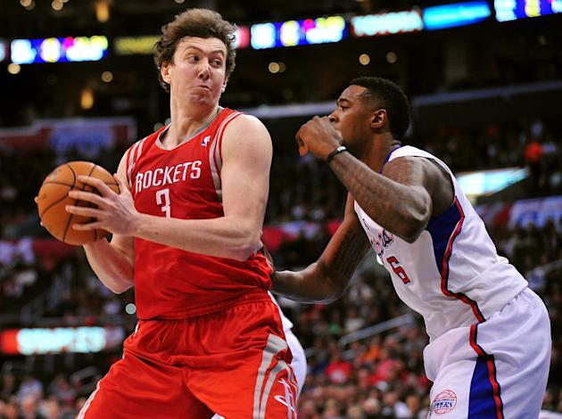 NBA: Houston Rockets at Los Angeles Clippers