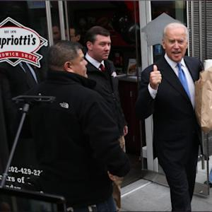 Biden Finds Slice Of Home At Delaware Sandwich Shop