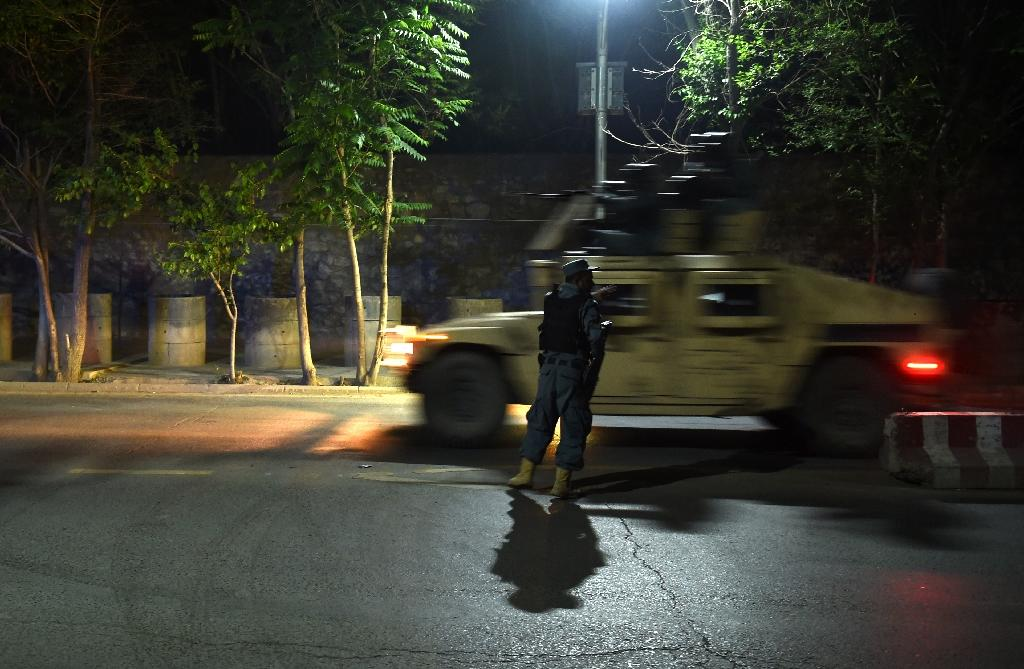 Security forces battle militants in Kabul diplomatic quarter